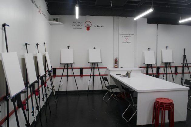 Art Jamz Underground Studio space