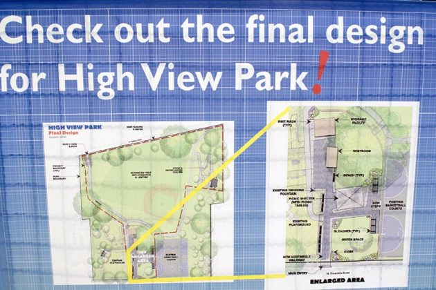 Final Designs for High View Park