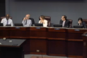 July 19 County Board meeting screenshot