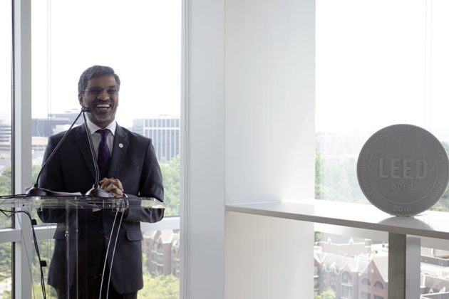 Mahesh Ramanujam, U.S. Green Building Council's chief operating officer