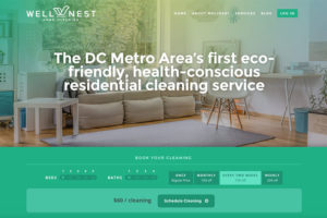 WellNest homepage