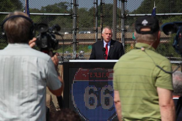 Gov. Terry McAuliffe hosted an event to kick off construction of the new improvements