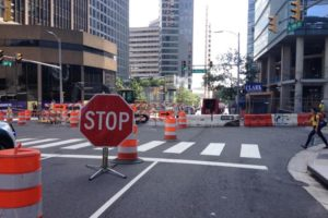 Road Work in Rosslyn