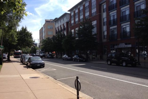 Part of Wilson Blvd in Rosslyn scheduled to be paved