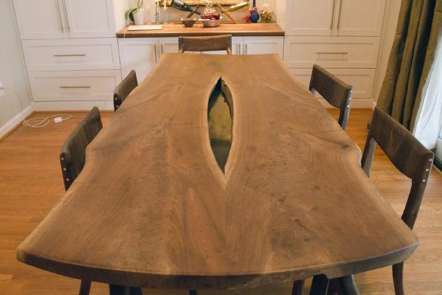 Dining room table and chairs created by Spugnardi