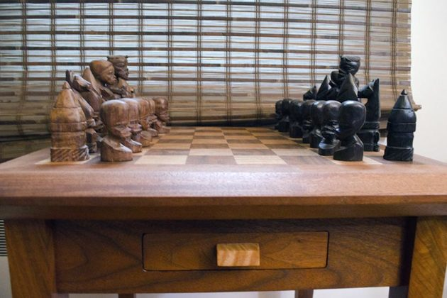 Chess table created by Spugnardi
