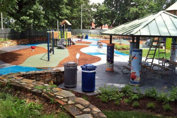 Ft. Barnard Park playground (photo via Arlington County)