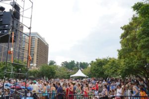 Rosslyn Jazzfest 2015, photo courtesy Rosslyn BID