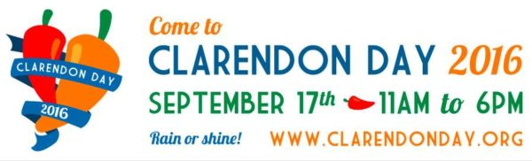Clarendon Day 2016 graphic