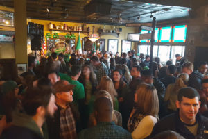 St. Patricks Day at OSullivans, photo courtesy of OSullivans