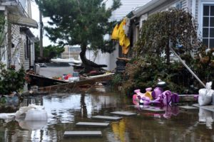 Less than 40% of residents living along the coast of NJ understood that their greatest risk during Superstorm Sandy came from water, not wind.