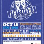 Pints 4 Paws poster