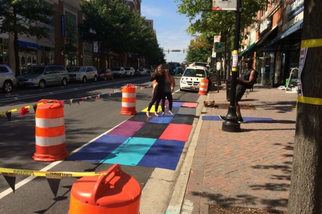 Park(ing) Day 2016 in Clarendon