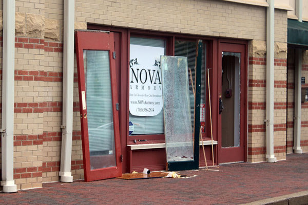 Break-in at Nova Armory (courtesy photo)