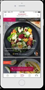 Hungry iPhone app