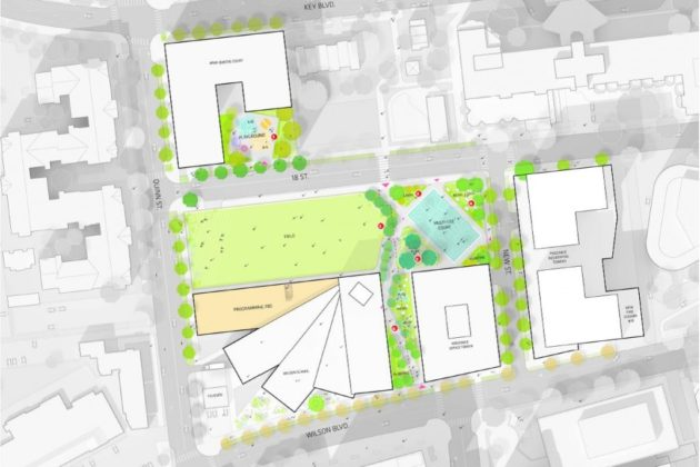 Rosslyn Highlands Park concept plan