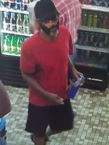 Robbery suspect (photo courtesy FBI)