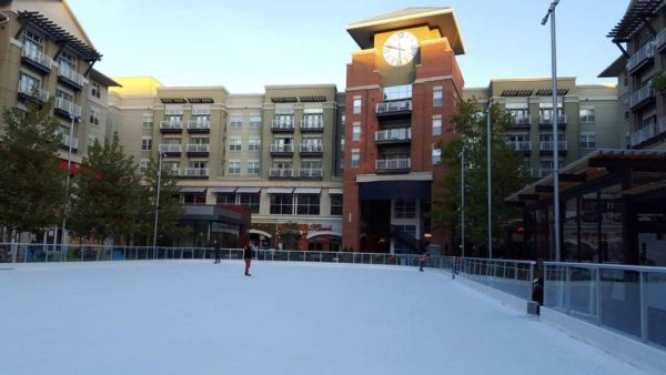 Pentagon Row ice skating rink opens for the 2016-2017 season (photo via Facebook)