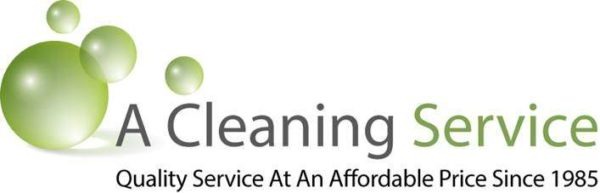 A Cleaning Service logo