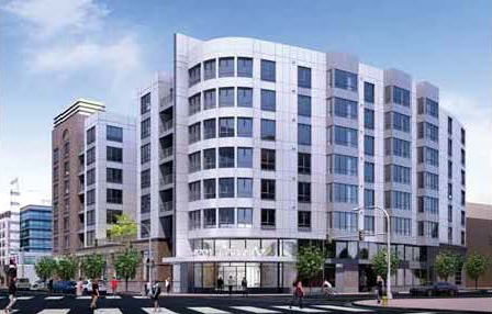 Ballston church redevelopment rendering