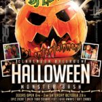 Clarendon Ballroom Monster Bash flyer 2016