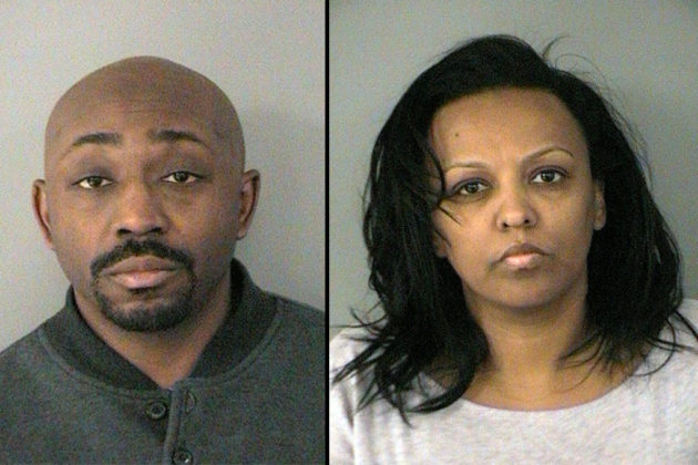 Clark Donat and Adiam Berhane (photo courtesy ACPD)
