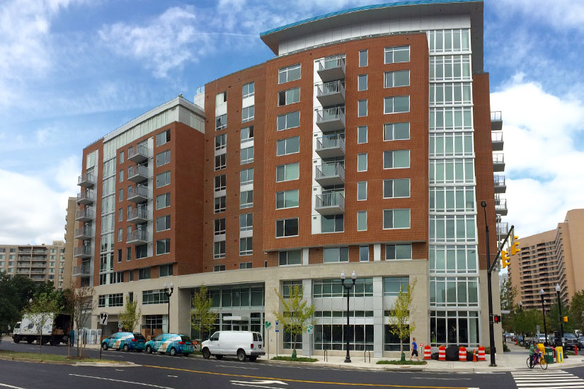 Mflats new apartment building opens in crystal city for City apartment building