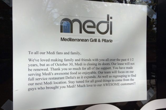 Medi has closed in Shirlington
