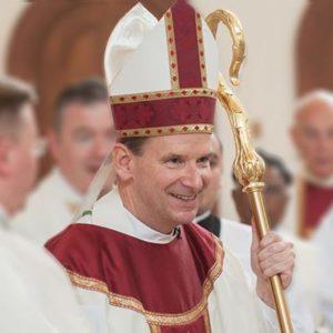 Michael Francis Burbidge (Photo via Twitter/Bishop Burbidge)