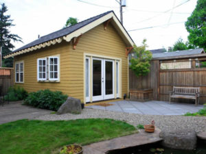 """Backyard cottage"" accessory dwelling"