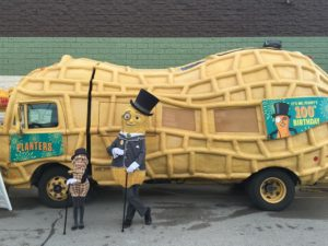 Planters NUTmobile (photo courtesy Planters)