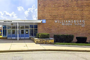 Williamsburg Middle School (photo via APS)