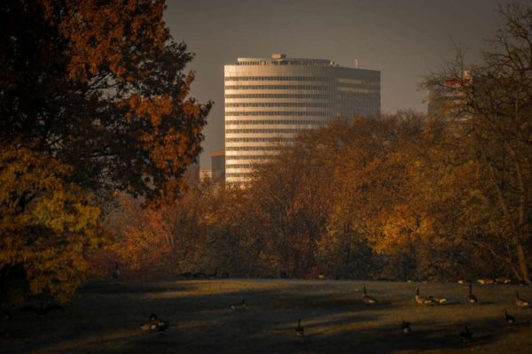 Rosslyn in the fall (Flickr pool photo by Kevin Wolf)