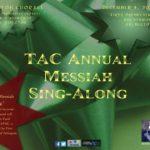 Annual Messiah Sing-Along 2016