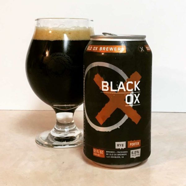 Black Ox rye porter