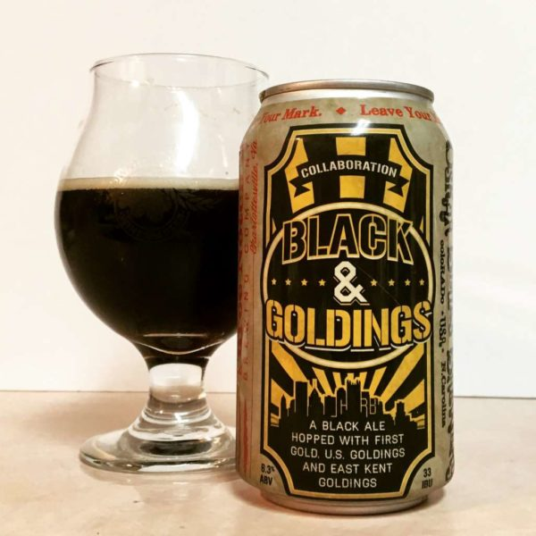 Black & Goldings black ale