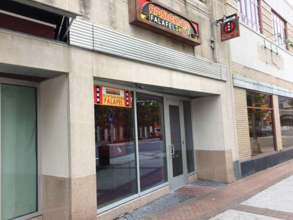 Amsterdam Falafel closed in Clarendon
