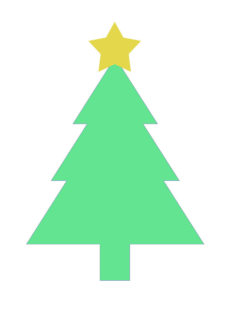 It's just a picture of Unusual Free Printable Christmas Tree Template