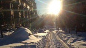 Snow in Arlington