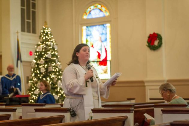 Rev. Sarah Harrison-McQueen (photo courtesy Jim Coates)
