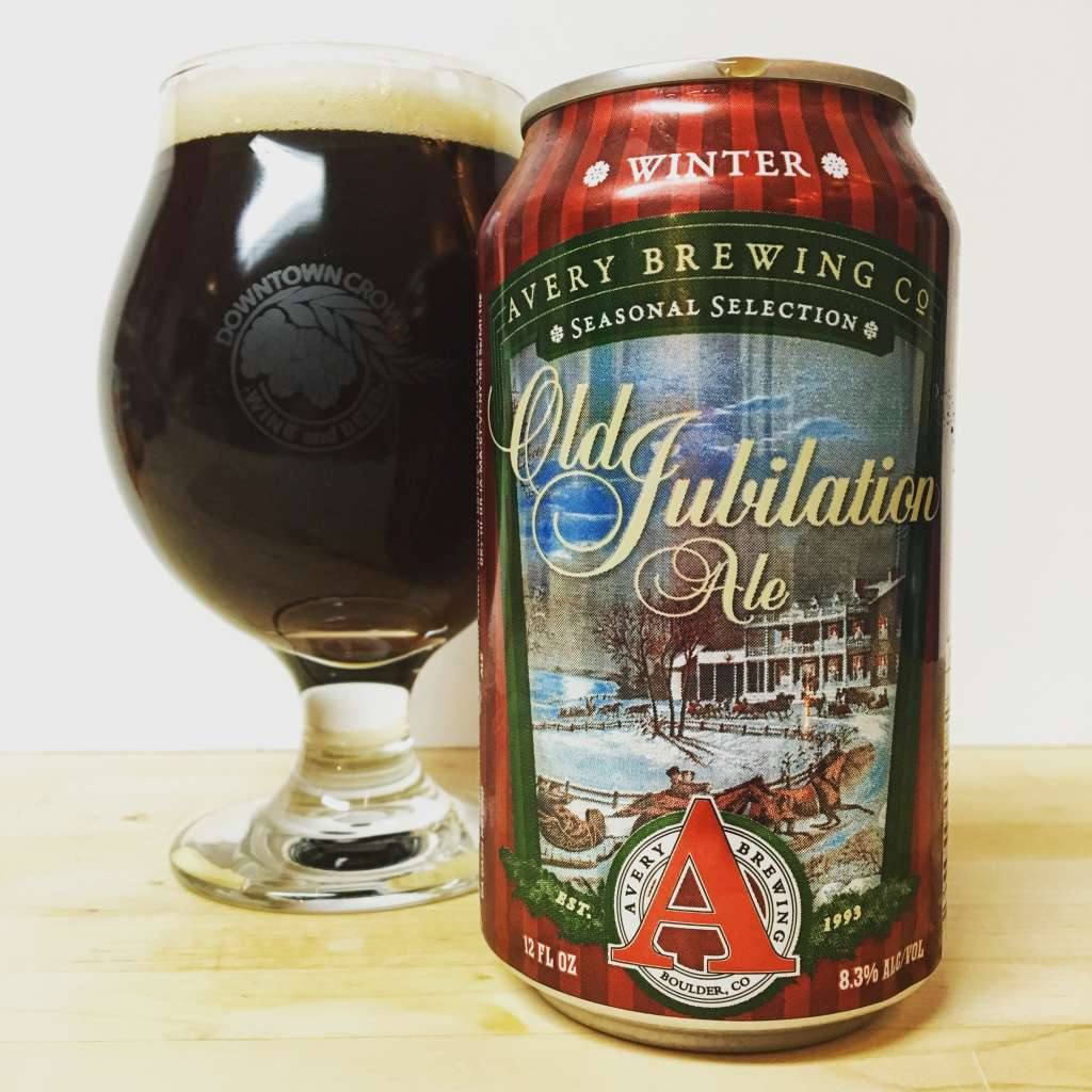 Avery Brewing Company Old Jubilation Ale