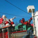 Santa_on_Engine