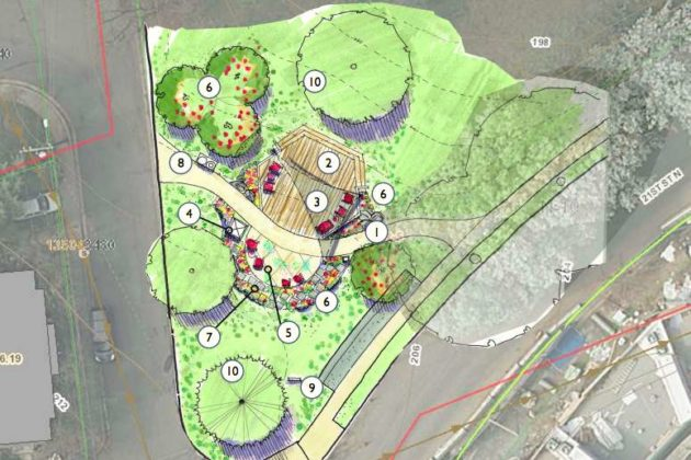Proposed McCoy Park improvements (image via Arlington County)