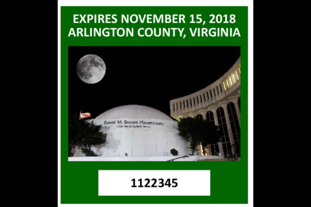 "2017 decal winner: ""Arlington Sees Stars"""