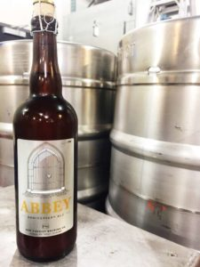 Abbey Ale bottle (photo courtesy of New District Brewing Company)