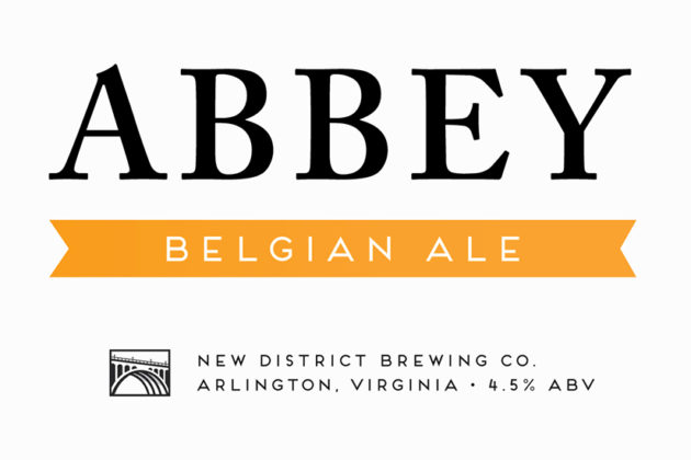 Abbey Ale (photo courtesy of New District Brewing)