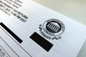 Arlington County tax form