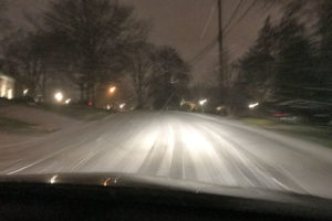 Driving in the snow (file photo)