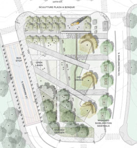 Program Locations Proposed for Nauck Town Square