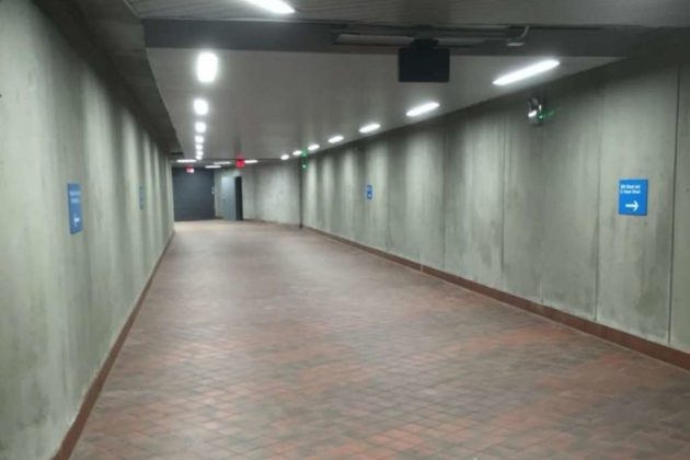Pentagon City Metro pedestrian tunnel (photo via Arlington County)